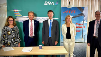 BRA samarbetar med ATR och Neste för att påskynda 100% SAF-certifiering