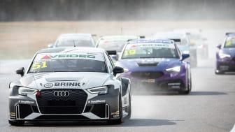 Hannes Morin, Brink Motorsport. Foto: Anders Helgesson