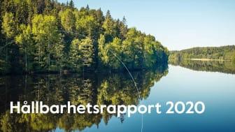 I vår nysläppta Hållbarhetsrapport 2020 berättar vi allt om vårt spännande hållbarhetsarbete.