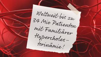 Familiäre Hypercholesterinämie: Wer hat schon eine Erbkrankheit?