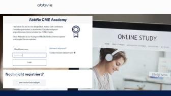 Unter www.CMEacademy.abbvie.de stellt AbbVie Deutschland Ärzten ein neues Fortbildungsportal zur Verfügung.