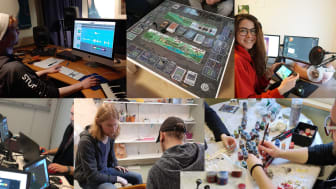Kollage av bilder från Studio Ludums verksamhet. Foto/kollage: Studio Ludum