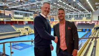 Solidsport AI-satsar med automatiska kameror i IFU Arena, Uppsala.