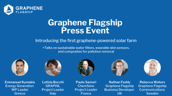 Join the upcoming Graphene Flagship Press Event