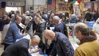 Stort intresse bland besökarna på Swanson's Amerikadag