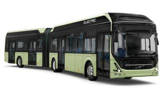 Volvo 7900 Electric Articulated med plats för upp till 120 resenärer kommer börja trafikera Västerås hösten 2021
