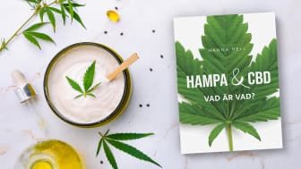 """""""Hampa & CBD – Vad är vad?"""" av Hanna Hell utkommer i september 2021"""