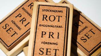Nominerade till Stockholms Byggmästareförenings ROT-pris 2019