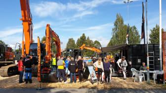 Delvator ställer ut högklassiga HItachi grävmaskiner och hjullastare på Load Up North i Umeå