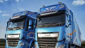 För andra året i rad är DAF det snabbast växande lastbilsmärket i Sverige