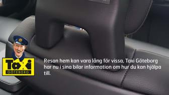 Samarbete Räddningsmissionen och Taxi Göteborg