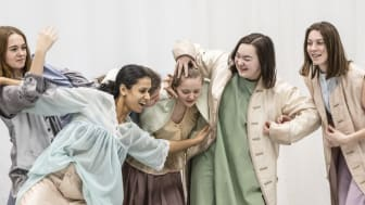 Ungdomar skapar helt nytt dansverk – föreställning i helgen i Angered