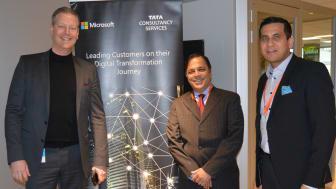Jonas Alstermark, Director, Microsoft Customer Success Unit - Siva Ganesan, Head of TCS Microsoft Business Unit - Avinash Limaye, Country Manager, TCS Sweden