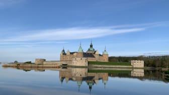 Slottsfjärdens gästhamn kommer att ha en fantastisk utsikt mot Kalmar Slott
