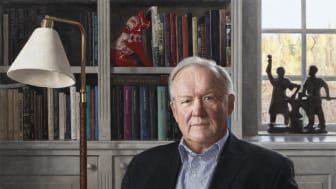 """© Olle Hamngren, """"Göran Persson"""". 2017 års hedersporträtt, Statens porträttsamling."""