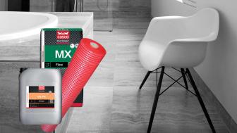 Casco Floor Expert erbjuder ett komplett sortiment för golvläggare och plattsättare. Armera med Casco Floor Expert PZG, ett tunt, smidigt och lättarbetat armeringsnät utan bygghöjd.