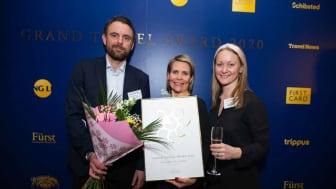 Erik Pändel (Food and Beverage Manager), Jessica Norgren (General Manager), Anna Thomsen (Hotel Manager) Foto: Liisa Eesloo