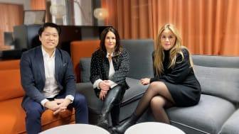 Rickard Alfredson, Tanja Cronqvist och Rashin Kabodvand startar tre nya bolag inom Sigma Technology Group för att vinna IT-kampen i Stockholm.