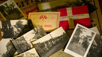 """Rigsarkivet markerer 100-året for Genforeningen 1920 online. Se den nye webudstilling """"Fra Rigsarkivets hylder - Genforeningen 1920""""."""