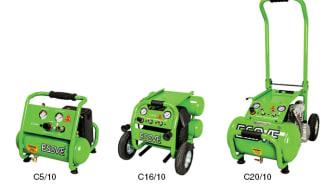 ESSVE lanserer tre nye kompressorer av høy kvalitet
