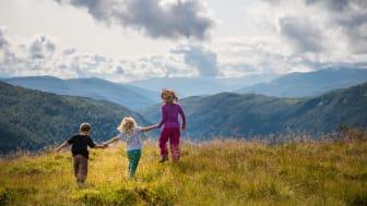 Ta barna med på eventyr til Flåm og Myrkdalen