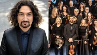 Thomas Di Leva och HSO ger en livesänd konsert under Hx-festivalen.