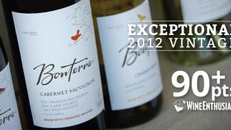 90 poäng till Bonterra Zinfandel 2012 i Wine Enthusiast