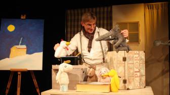 """Programm für Kinder: Das Spielraum-Theater gibt bei freiem Eintritt zwei Aufführungen des Stücks """"Die Steinsuppe"""" in der Werkstattkantine."""