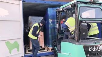Medisinsk utstyr sendes til Kenya