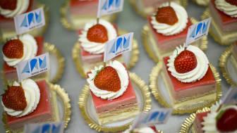 Sex konditorier och bagerier har tillsammans tagit fram jubileumsbakelsen