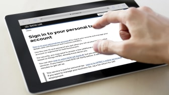 Sign in to your personal tax account