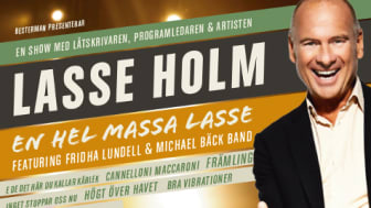 En hel massa Lasse  - kommer till Nöjesteatern i Malmö den 7 april