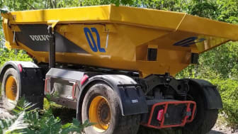 Därför kommer autonoma transporter till stenbrott och lättare gruvdrift först