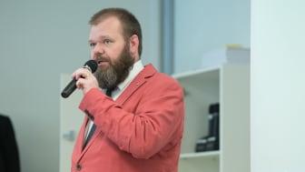 Bengt-Erik Johansson under dyslexihearing
