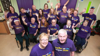 Local stroke choir adds voices to Lost for Words campaign