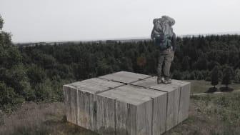 Udsigstpost til Svanninge Bjerge. Førsteplads.