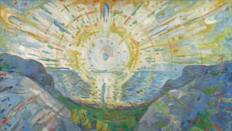 The Sun. Oil on canvas 1912
