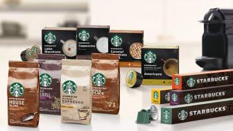 Populær kaffe: Med lanseringen av Starbucks i norsk dagligvare, har Nestlé bidratt til kategorivekst.