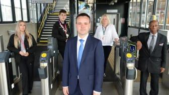 Stephen McPartland MP meets GTR lifesavers