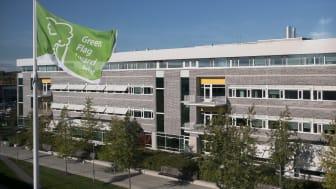 SLU:s campus Ultuna får Green Flag Award. (Foto: SLU)