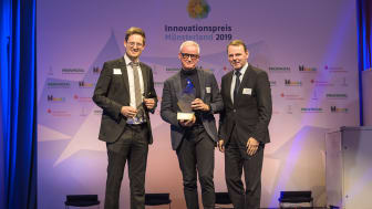 Innovationspreis Münsterland 2019 für Frank Brormann