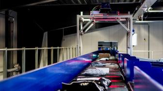 Automatisk sorteringsanlæg klar til at håndtere højsæsonens pakkemængde hos GLS.