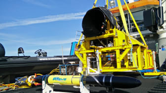 High res image - Oceanology International - RTSys  autonomous submarine drone