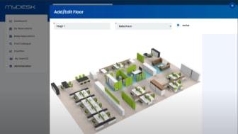 MyDesk-Add floorplan
