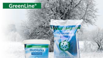 Halkbekämpa utan restprodukter med GreenLine
