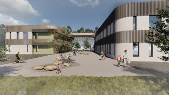 Torvbråten skole visualisering