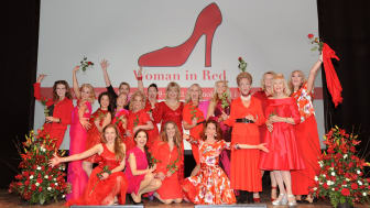 Den 9 mars kommer Woman in Red till Östergötland för en jämställd hjärtsjukvård.