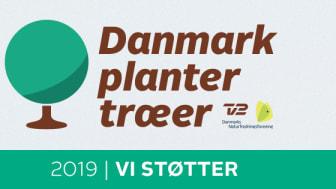"""ESVAGT støtter kampagnen """"Danmark planter træer"""" med et træ per medarbejder."""