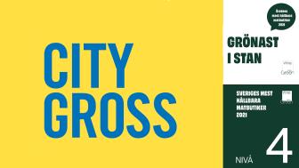 City Gross Örebro är stans grönaste butik enligt White Guide Green