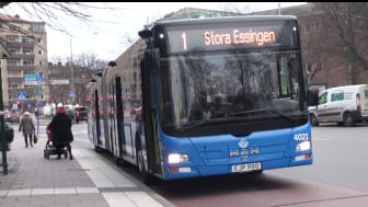 Bus company invests in new information system to improve passenger comfort